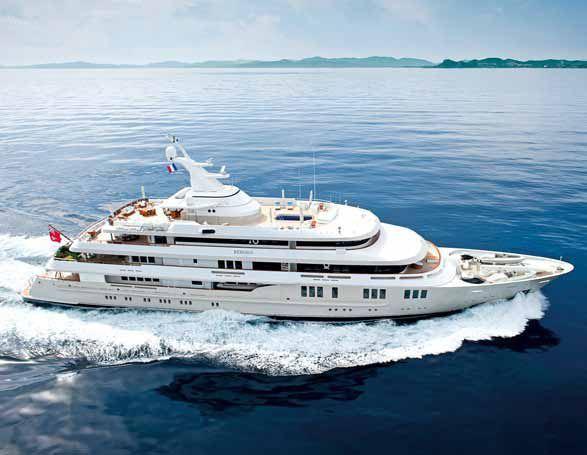 The 76m Amels Superyacht Reborn