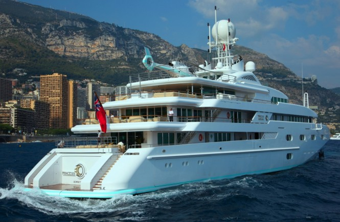 ... and Ken Denison the well-known yacht Princess Mariana has been sold.
