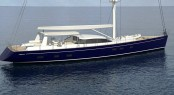 The Antares III yacht as built by Yachting Developments New Zealand and designed by Dixon Yacht Design