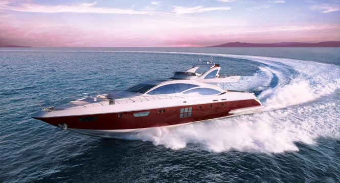 Of the 16 Azimut Yachts and Atlantis models exhibited, the most successful ...