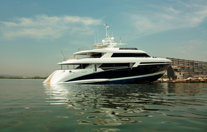 The Bilgin 145 yacht TATIANA is launched