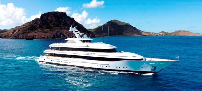 The Feadship Motor Yacht Lady Britt Underway