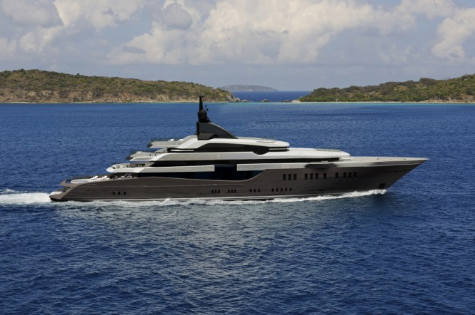 The Hot-Lab Oceanco PA186 superyacht