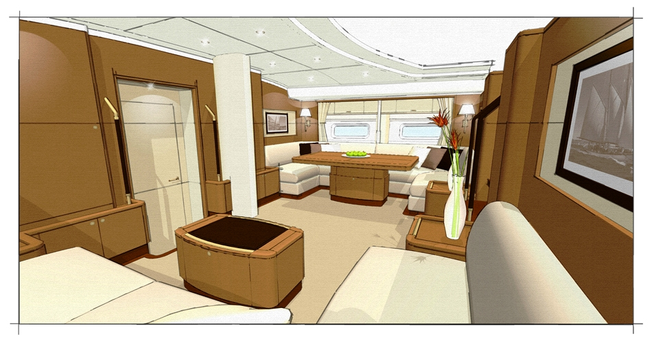 Yacht Interior Design the 30 metre superyacht antares iii yacht launchedyachting