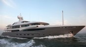 The Amels 212 Yacht Imagine - Here underway at sea