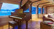 Yacht Imagine - The Main Saloon Piano