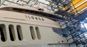 lona Yacht during refit
