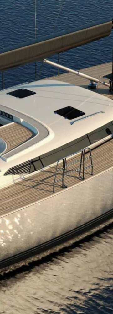the Contest 72CS Sailing Yacht