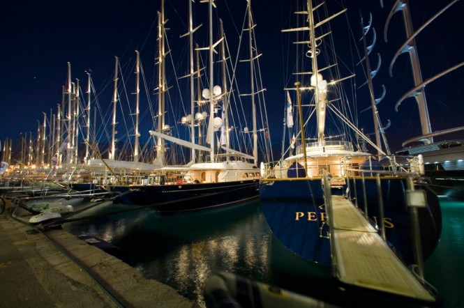 2011 Superyacht Cup in Palma - A full fleet of superyachts entered and several new sponsors.