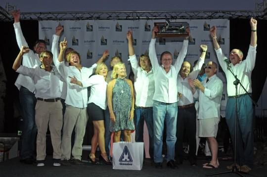 24m Hoek Sailing Yacht Drumfire wins the Superyacht Cup Palma 2011