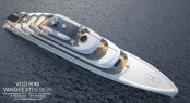 80 metre Superyacht by Van Geest Design - From Above