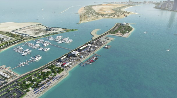 "Abu Dhabi building ""Destination Village"" for Volvo Ocean Race"