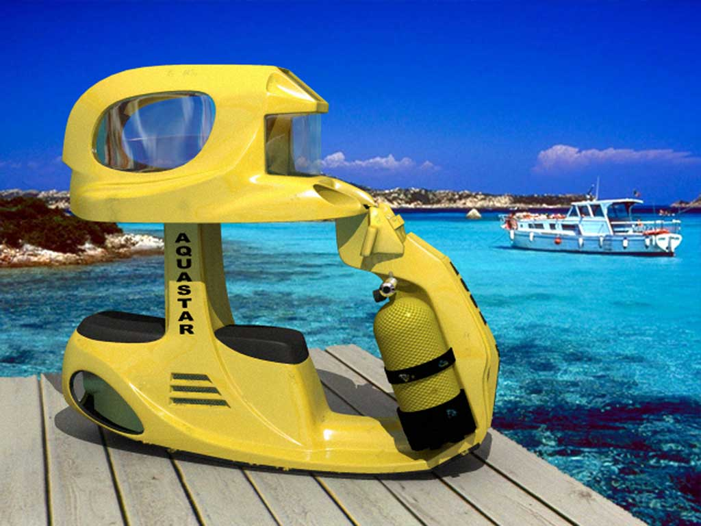 The Aqua Star Dive Scooter For Two Yacht Charter
