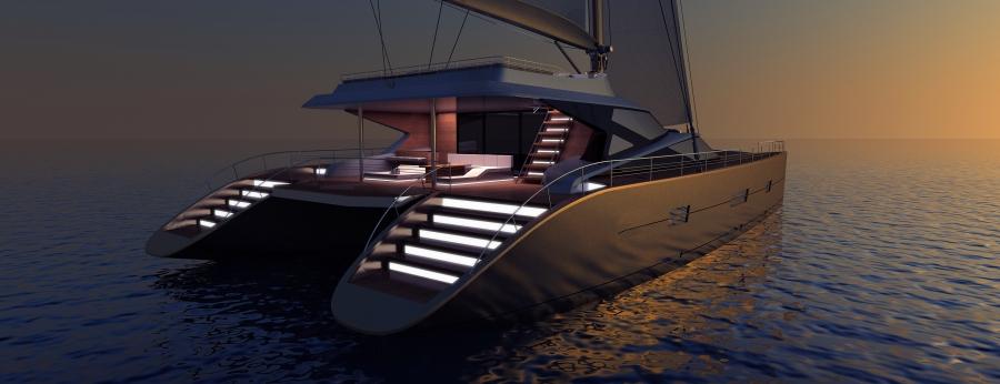 Blue Coast 88 Catamaran By Mega Yacht Catamarans