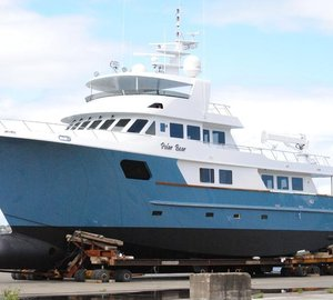 Explorer Yacht Polar Bear Launched by Citadel Yachts
