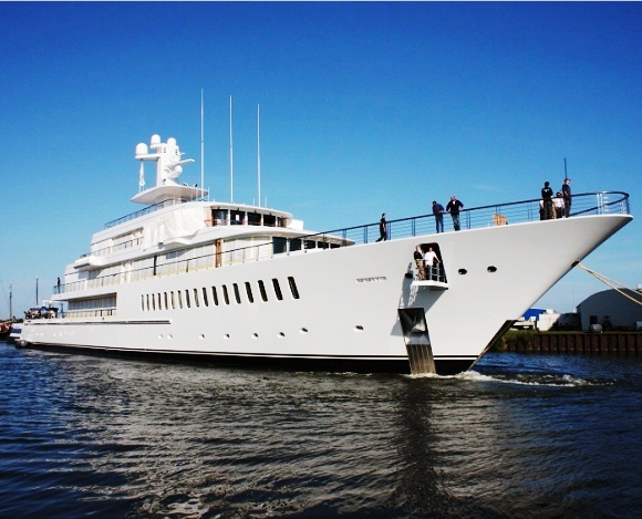 Feadship XL motor yacht Musashi Image Courtesy from LeBlogLux