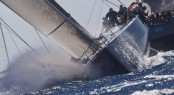 Highland Fling wins Loro Piana Superyacht Regatta 2011 in Porto Cervo phot Credits - Guido Trombetta