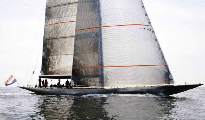 Hoek 115 F Class Classic Sailing Yacht FIREFLY by Claasen Yachtbouw