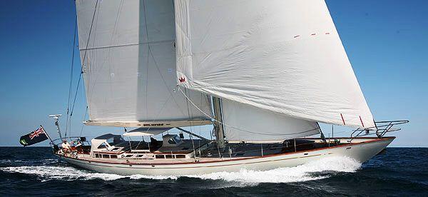 Hoek Sailing Yacht Drumfire won the Superyacht Cup Palma 2011 - Credit Hoek design