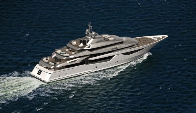 Hot Lab Designed 73 m Motor Yacht Icon 73 Milano for Icon Yachts