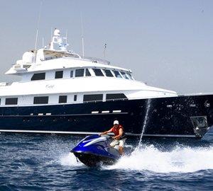 Western Mediterranean Yacht Charter Special on Superyacht CALAF