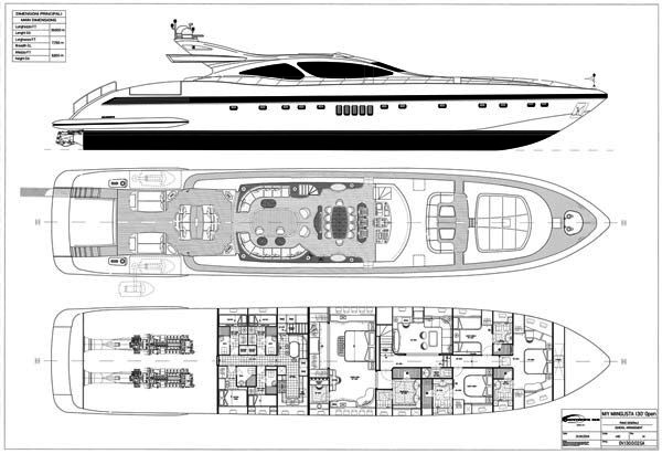 Mangusta 130 yacht CELCASCOR - GA