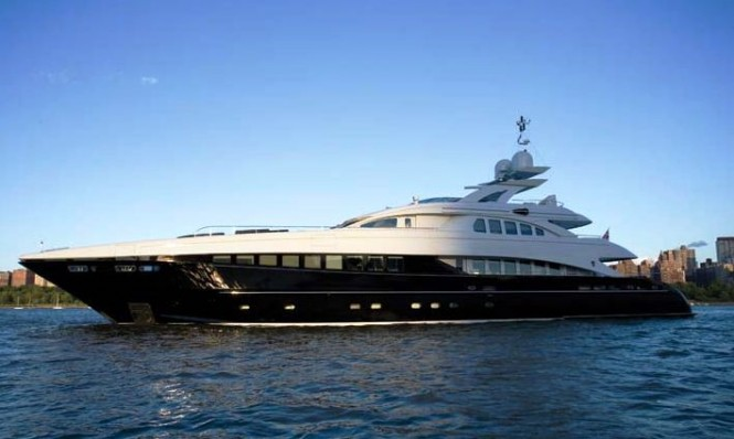 Motor Yacht Bliss - a sistership to the Heesen 4400 Series Yacht Zentric