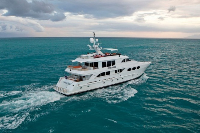 Motor Yacht CHOSEN ONE charter in the Caribbean