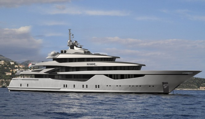 Motor Yacht Icon 73 Milano is a 73.3 metre luxury superyacht of immaculate ...