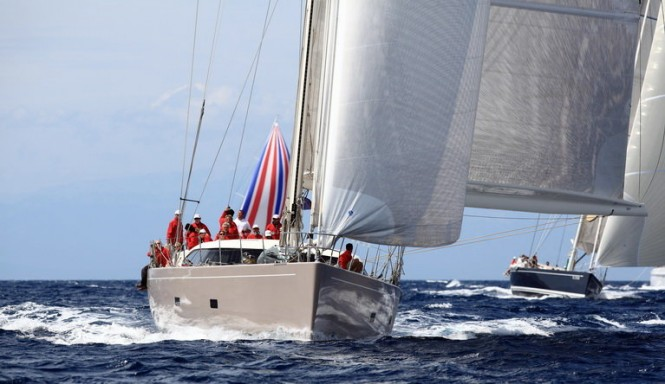 SW 100 DS yacht Acaia Four The 2011 Loro Piana Superyacht Regatta