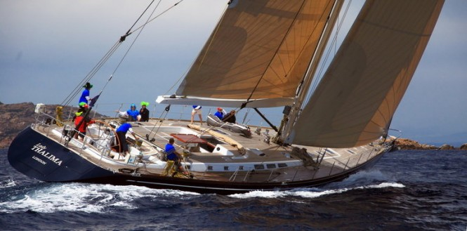 SW 93 Lady Thalima - The 2011 Loro Piana Superyacht Regatta