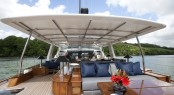 Sailing yacht AKALAM 60sqm Aft Deck
