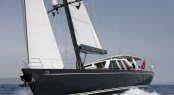 32m Sailing Yacht AKALAM by Barracuda Yacht Design and Pendennis - Credit Lloyd Images