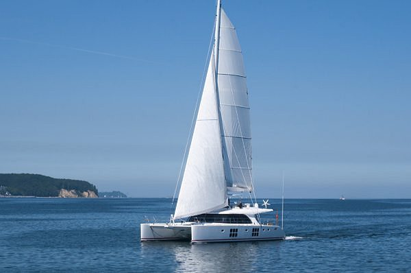 Sailing yacht IN THE WIND launched by Sunreef – The Premiere of the New Sunreef 58