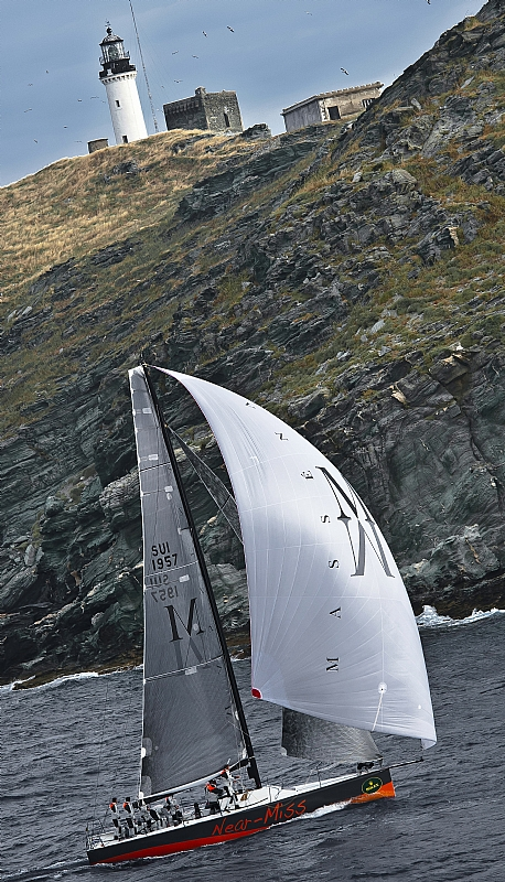 Sailing yacht NEAR MISS -  Photo credit Rolex  Kurt Arrigo