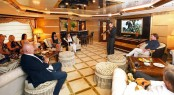 Stradivarius concert on board Benetti motor yacht Bistango 