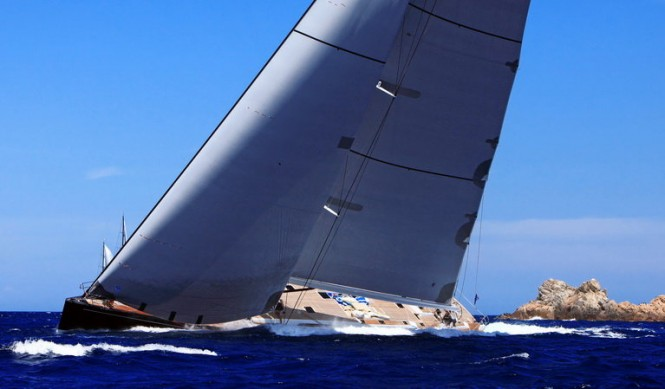 Southern Wind Sailing Yachts THALIMA SW 110 at The 2011 Loro Piana Superyacht Regatta - - PH. C. Baroncini