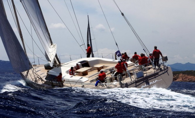 The 2011 Loro Piana Superyacht Regatta - SW 100 DS Acaia Four