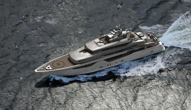 The 73 metre Hot Lab Designed superyacht ICON 73 MILANO