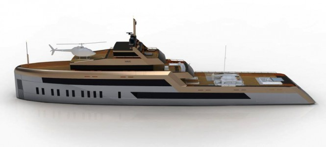 The OPEN WATER 60 M Superyacht Design