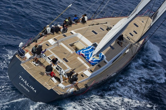 Sailing Yacht Thalima