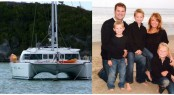 The three-year circumnavigation of the Leonard family - Scott, Mandi, Griffin, Jake and Luke on Catamaran Three Little Birds