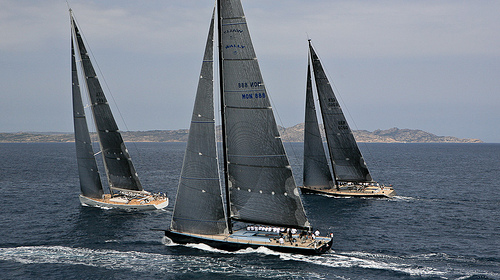 Wally Sailing yacht Highland Fling at Superyacht cup 2011