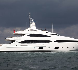Third 40-metre Yacht Jelana delivered by Sunseeker superyachts