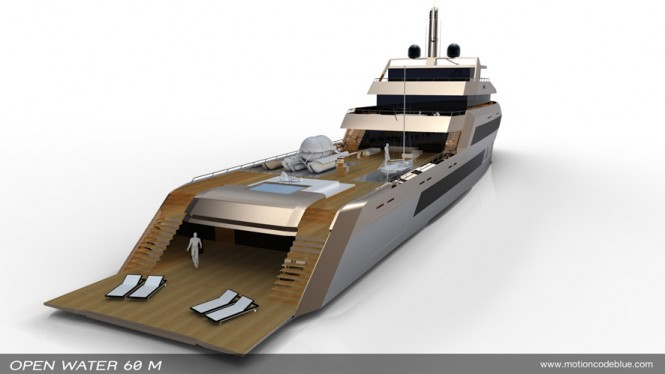 open water 60m_explorer yacht by motion code blue aft