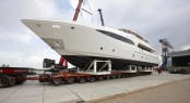 120ft Motor yacht Crystal by Dixon Yacht Design launched by Moonen Yachts