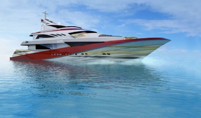 50m Motor yacht JoyMe by Philip Zepter Yachts ready to be delivered