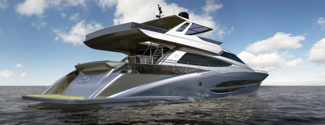 72' Motor yacht by Joachim Kinder Design