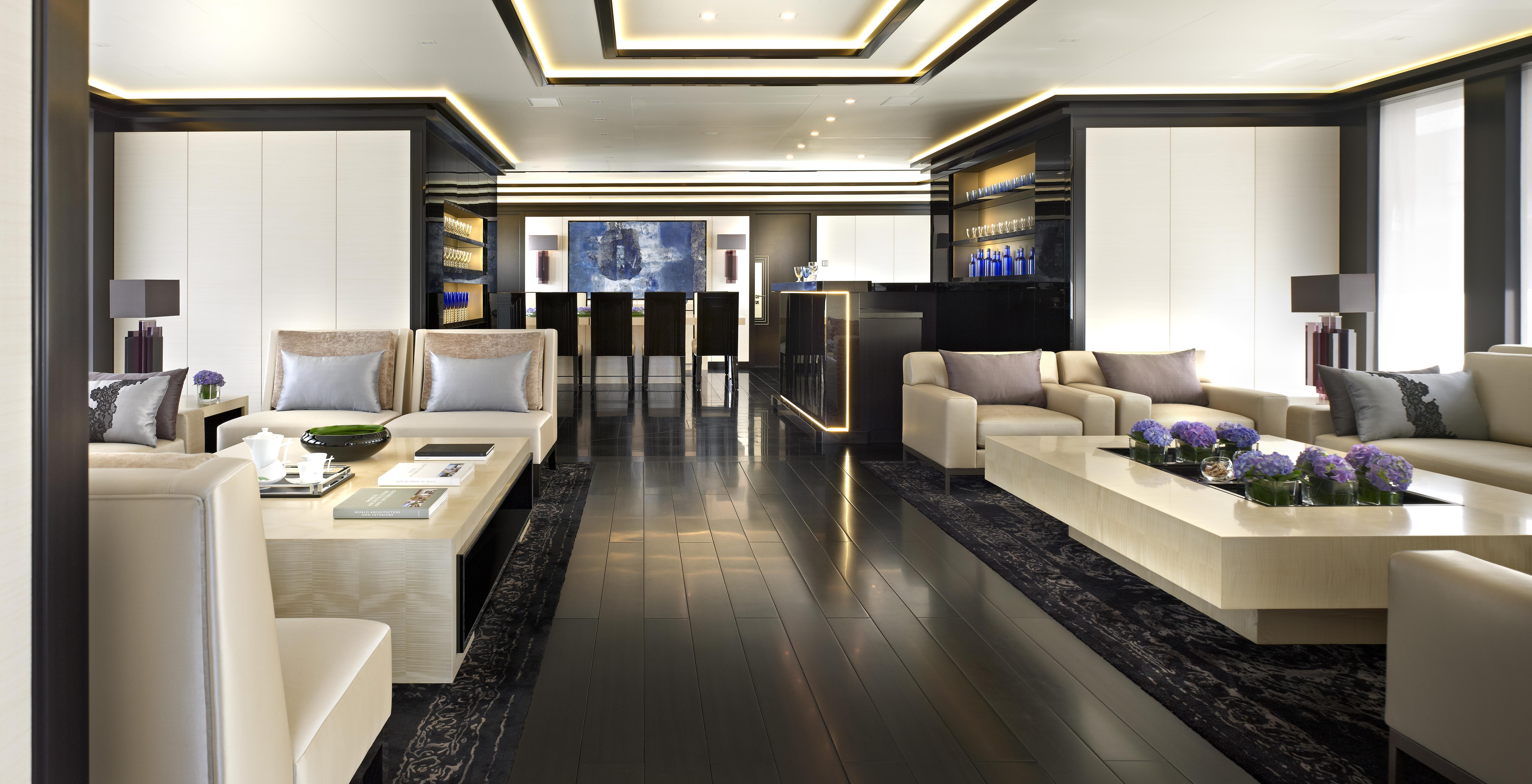 735m motor yacht Sapphire interior by NEWCRUISE Yacht Projects