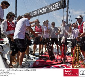 Audi MedCup Region of Sardinia Trophy – Audi Sailing Team powered by ALL4ONE win